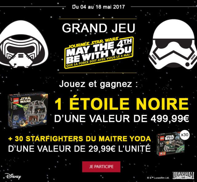 Concours Picwic LEGO Star Wars : Une Death Star à Gagner