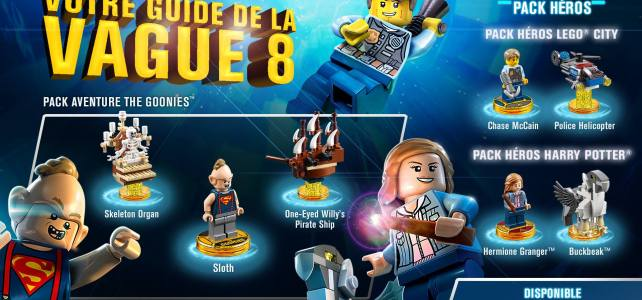 LEGO Dimensions vague 8 : c'est parti