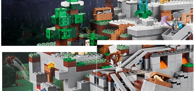 LEGO 21137 The Mountain Cave : premier aperçu du plus gros set Minecraft jamais sorti