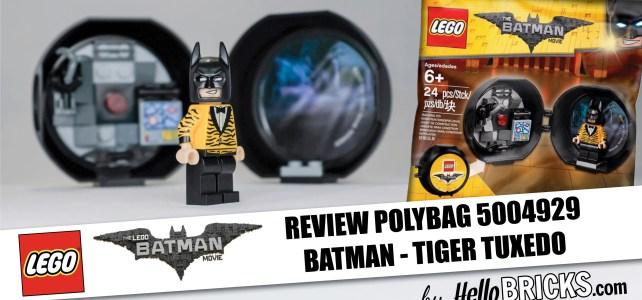 Review Lego Polybag 5004929 - Batman Tiger Tuxedo
