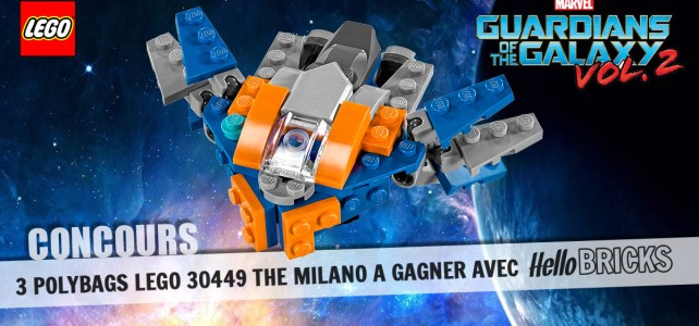 Concours : 3 polybags LEGO 30449 The Milano à gagner !