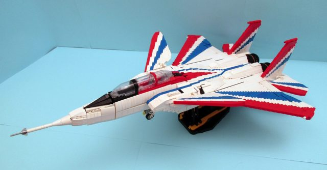 LEGO Ideas NF-15B Research Aircraft