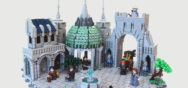 Middle Earth LEGO Olympics Numenor