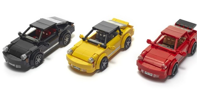 LEGO Porsche 911 Collection