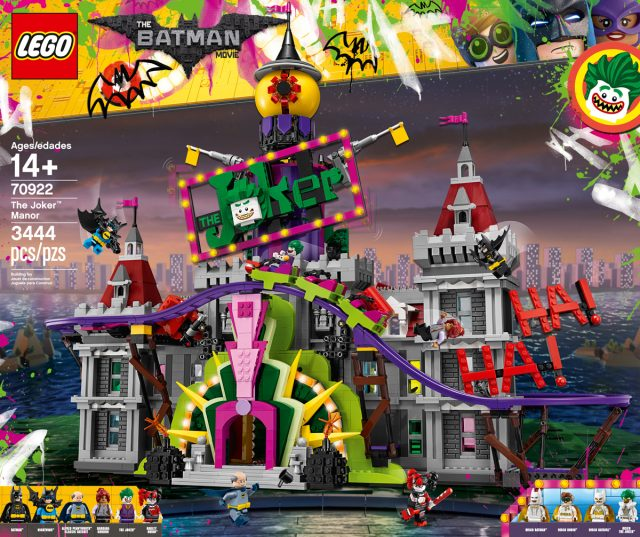 LEGO 70922 The Joker Manor The LEGO Batman Movie