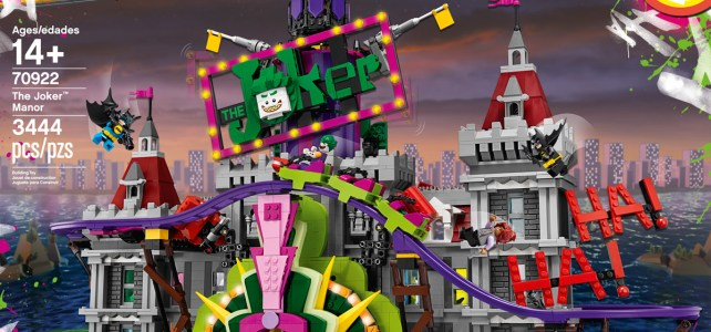 70922 The Joker Manor disponible, et la Death Star à -20% !