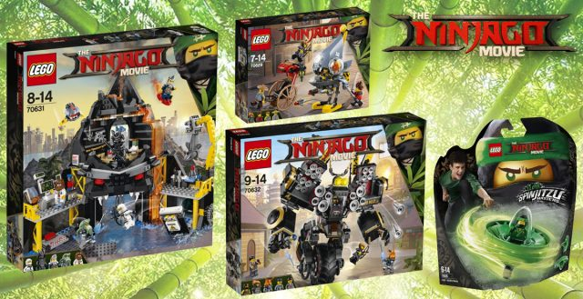 The LEGO Ninjago Movie wave 2