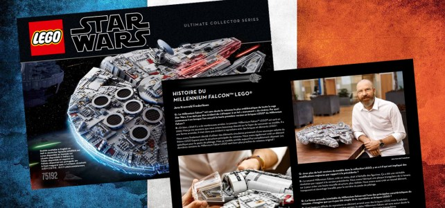 75192 UCS Millennium Falcon : la traduction française de l'introduction est disponible