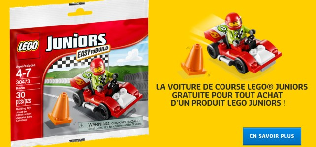 LEGO Juniors polybag 30473 Racer