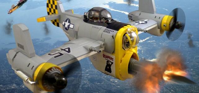 Fe-47 Rapier et autres avions ultra design et ridiculement cool