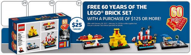 GWP 60 Years of the LEGO Brick