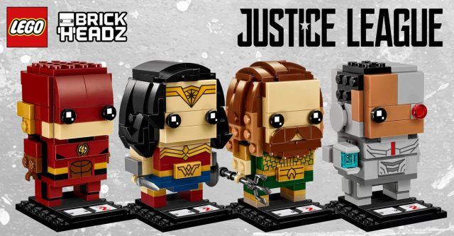 LEGO BrickHeadz 2018 Justice League