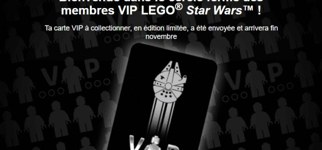 LEGO VIP black card