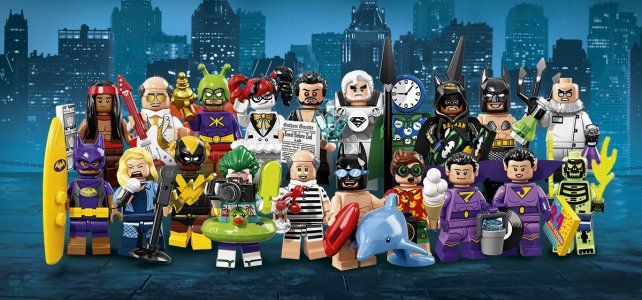 Minifigs à collectionner 71020 The LEGO Batman Movie Minifigures Series 2 : l'annonce officielle