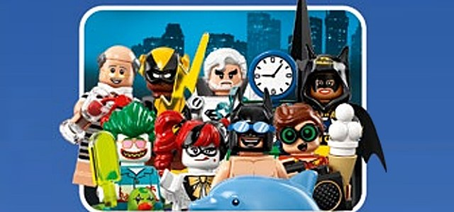 Minifigs à collectionner 71020 The LEGO Batman Movie Minifigures Series 2 : premier visuel officiel
