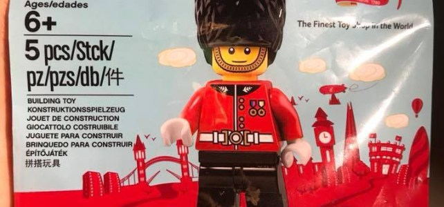 Hamleys LEGO exclusive minifigure