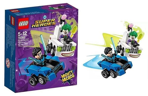 LEGO 76093 DC Comics Mighty Micros Nightwing vs The Joker