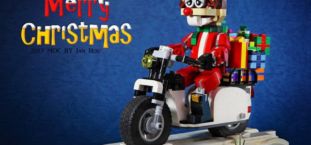 Le Père Noël et Rudolphe se modernisent !