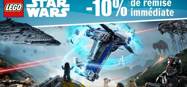 -10% sur la gamme LEGO Star Wars