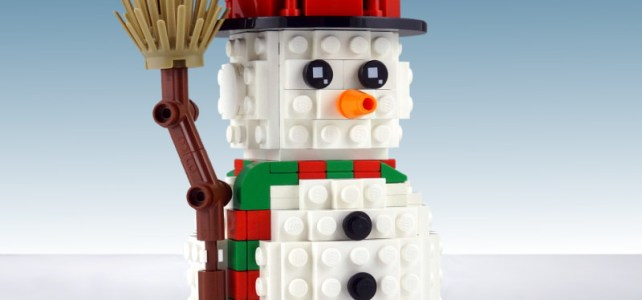 Winter LEGO Snowman