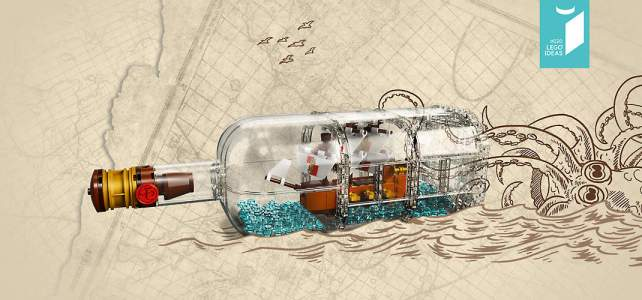 LEGO Ideas 21313 Ship in a Bottle teasing