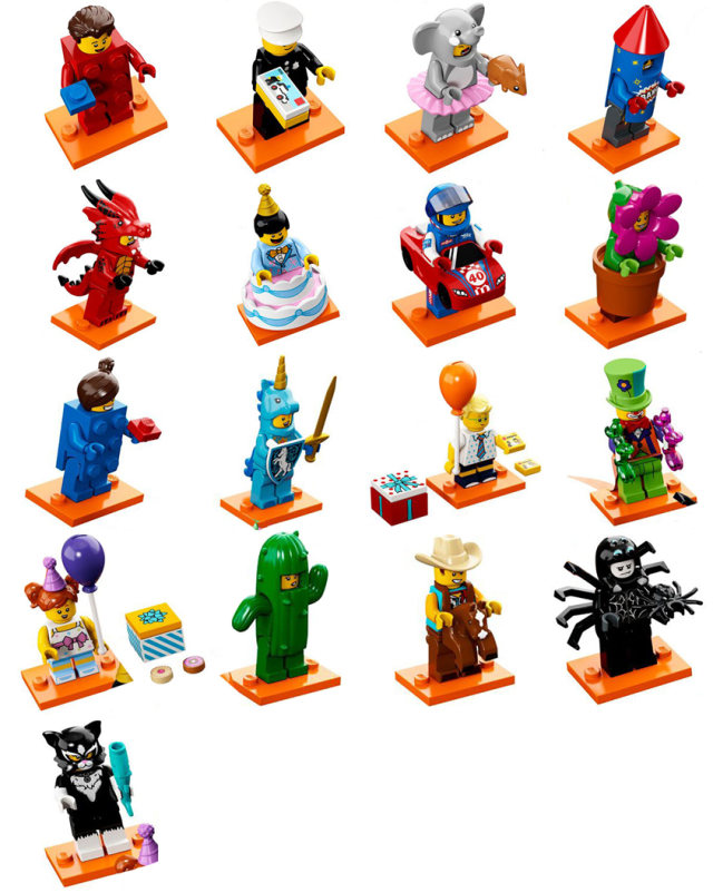 lego 71021 collectible minifigures series 18 les visuels des 17 personnages collectionner. Black Bedroom Furniture Sets. Home Design Ideas