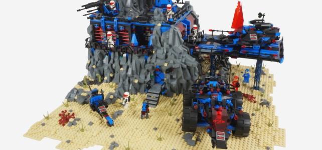 LEGO Space Police Delta Base
