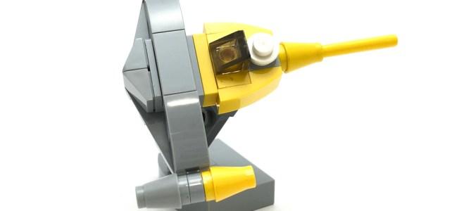 Micro LEGO Star Wars Naboo Starfighter
