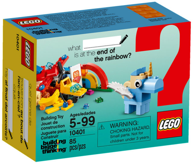 REVIEW LEGO 10401 Rainbow Fun Building Bigger Thinking