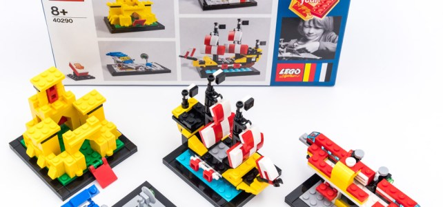 REVIEW LEGO 40290 60 Years of the Brick