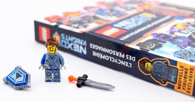 Review Livre LEGO Encyclopedie des personnages Nexo Knights