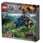Jurassic World Fallen Kingdom LEGO 75928 Blue's Helicopter Pursuit