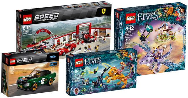 chez lego les nouveaut s speed champions et elves 2018 sont disponibles hellobricks. Black Bedroom Furniture Sets. Home Design Ideas