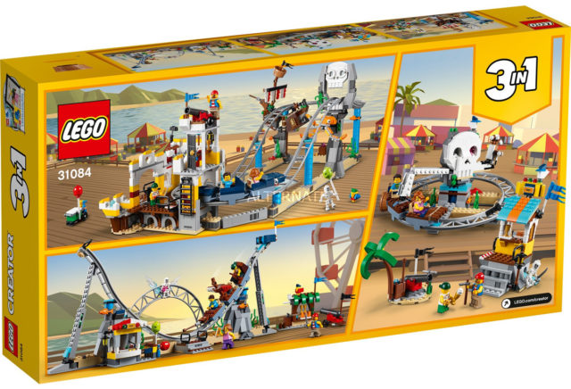 LEGO 31084 Pirates Rollercoaster back