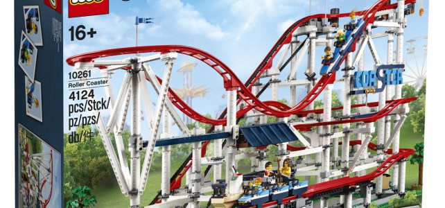 LEGO Creator Expert 10261 Roller Coaster : l'annonce officielle