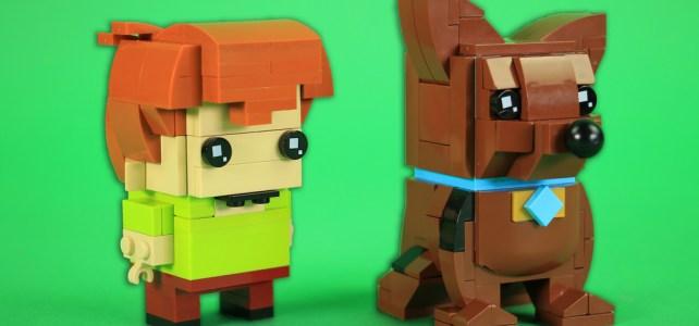 Duo Brickheadz Scooby-Doo et Sammy