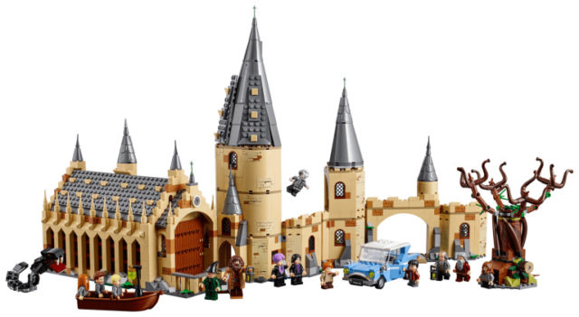 LEGO Harry Potter 75953 Hogwarts and the Whomping Willow 01
