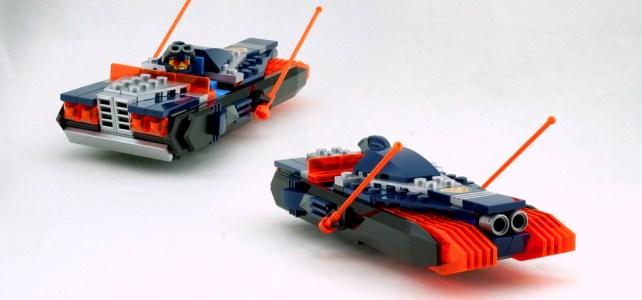LEGO Nexo Hovercar