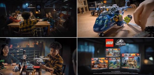 LEGO Jurassic World Commercial