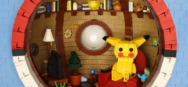 A l'intérieur d'une Pokéball : bienvenue chez Pikachu !