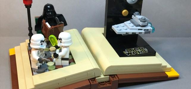 LEGO Star Wars story book 1