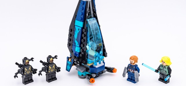 REVIEW LEGO Marvel 76101 Outrider Dropship Attack