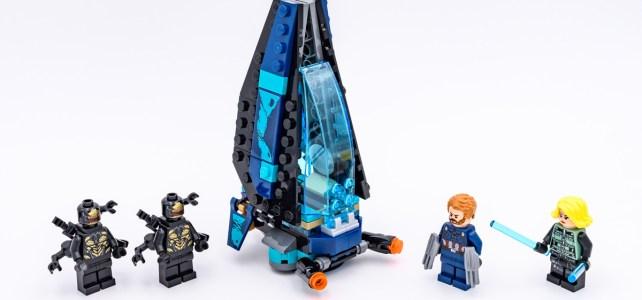 REVIEW LEGO Marvel 76101Outrider Dropship Attack