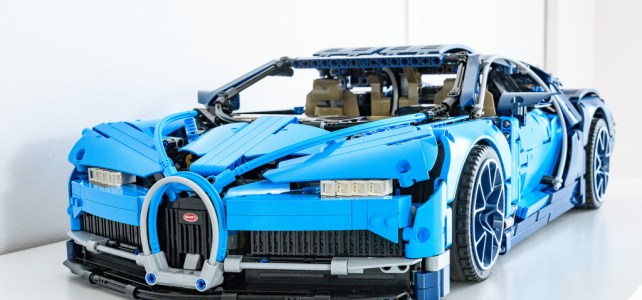 REVIEW LEGO Technic 42083 Bugatti Chiron : la supercar Made in France