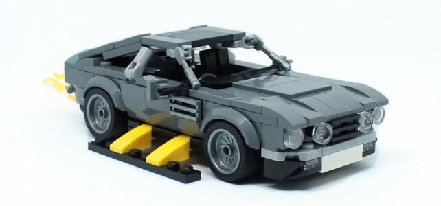 James Bond #15, Tuer n'est pas jouer : Aston Martin V8 Vantage Volante
