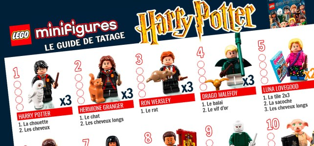 LEGO 71022 Minifigs à collectionner Harry Potter : le guide de tâtage