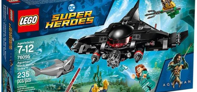 LEGO 76095 Aquaman Black Manta Strike