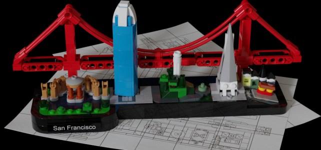 LEGO Architecture San Francisco Skyline