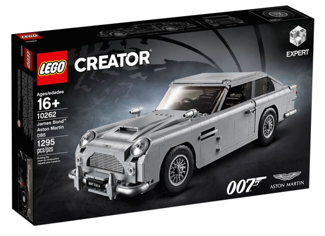 LEGO Creator Expert 10262 James Bond Aston Martin DB5 1