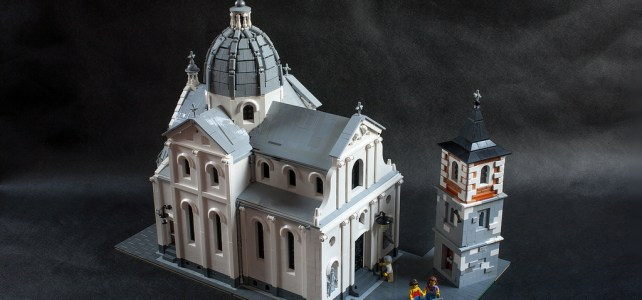 LEGO Eglise baroque